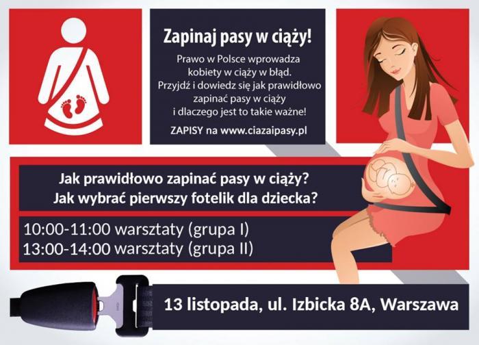 ciąża i pasy