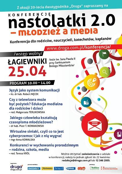 Konferencja plakat - młodzież